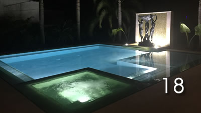 Photo by Sam Dobrow built by Regency Pools